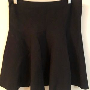 Ingrid A-Line Skirt | Black